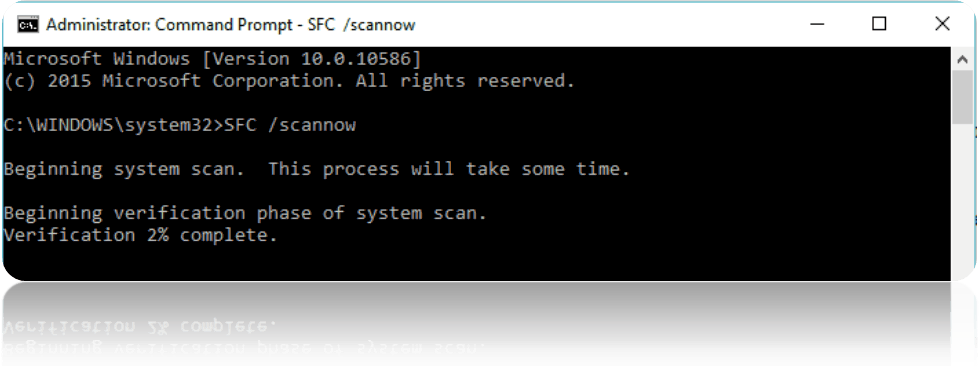 scannow Command