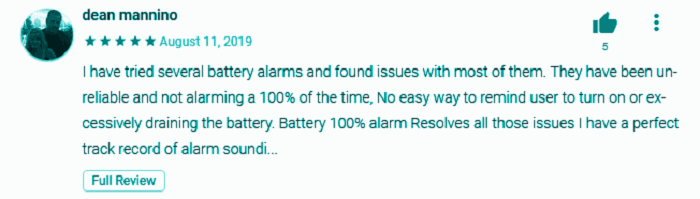 Battery 100% Alarm Reviews