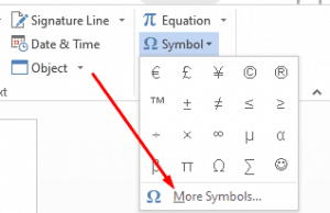 Choose More Symbols