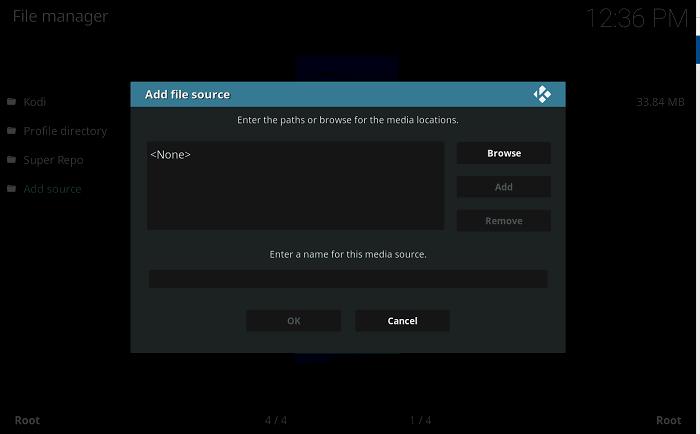 Install Repo - Add file source