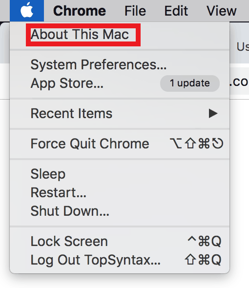 About this Mac - Service Battery MacBook