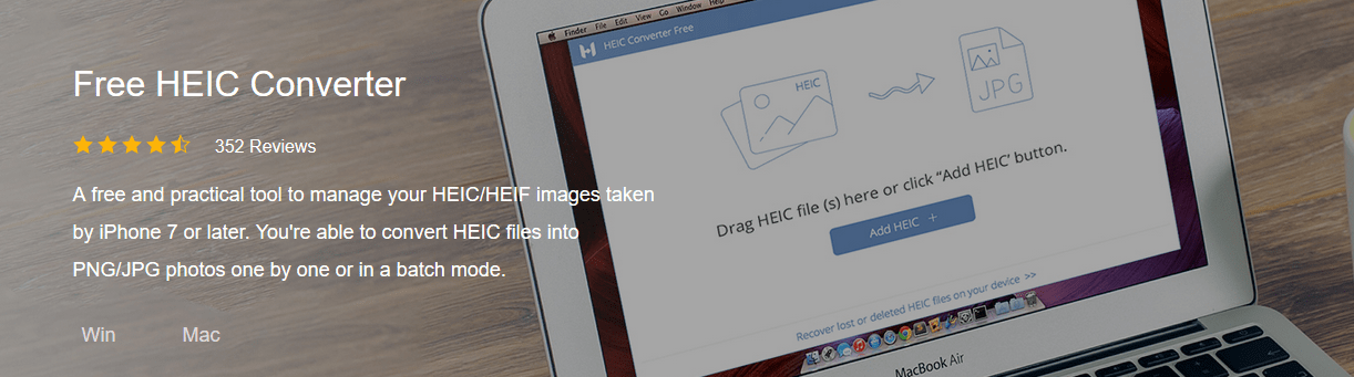 HEIC Converter- By FonePaw