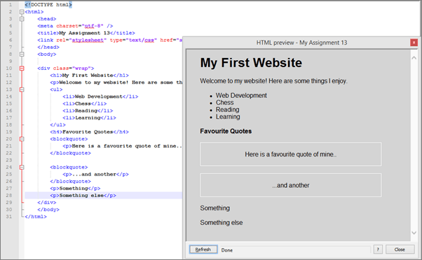 Preview HTML - Best Notepad++ Plugins