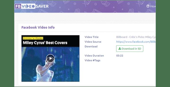 Facebook Video Downloader - FB Video Saver