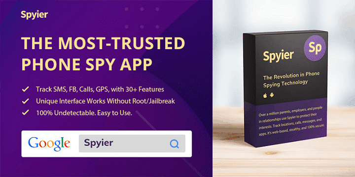 Spyier - Apps to Catch a Cheater