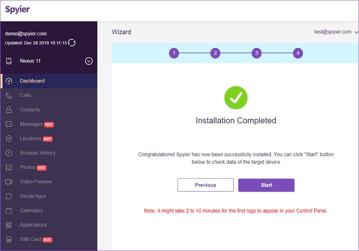 Install App - Spyier