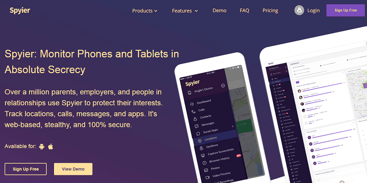 Spyier - Best Phone Spy Apps