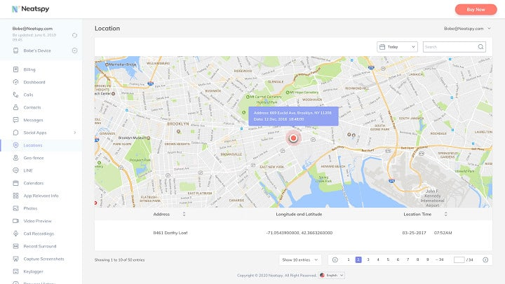 Location Surveillance