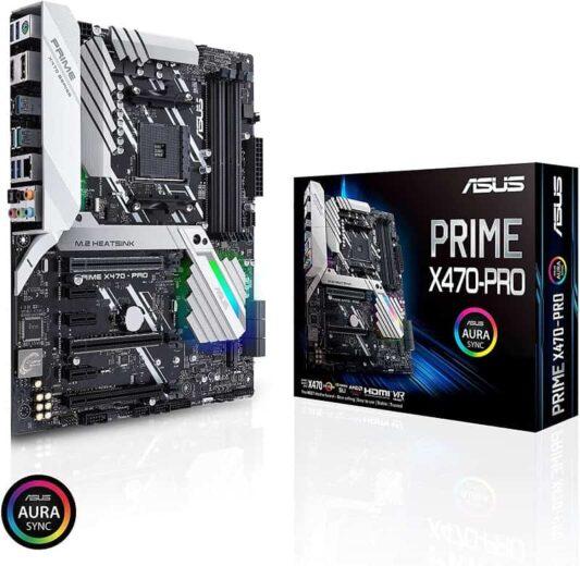 ASUS Prime X470-Pro AMD Ryzen 2 ATX Motherboard