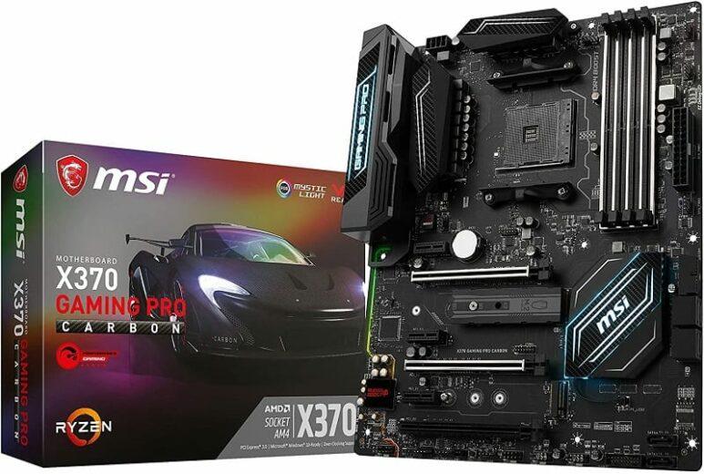 MSI X370 Pro Carbon