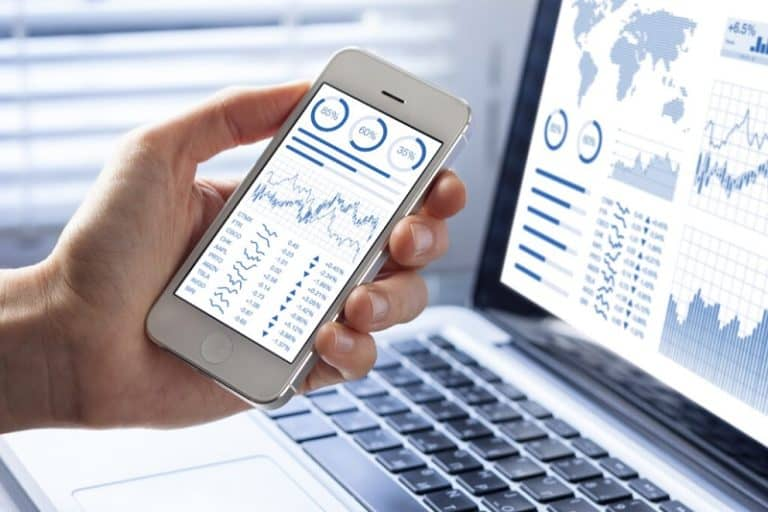 Invest using Smartphones