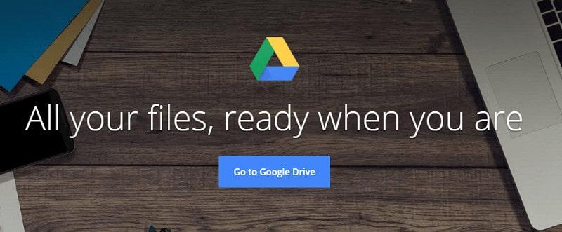 Google Drive - Best Document Sharing Sites