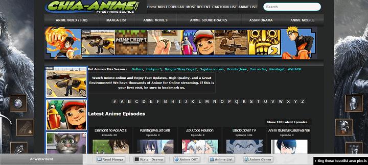 Chia Anime - Best Anilinkz Alternatives