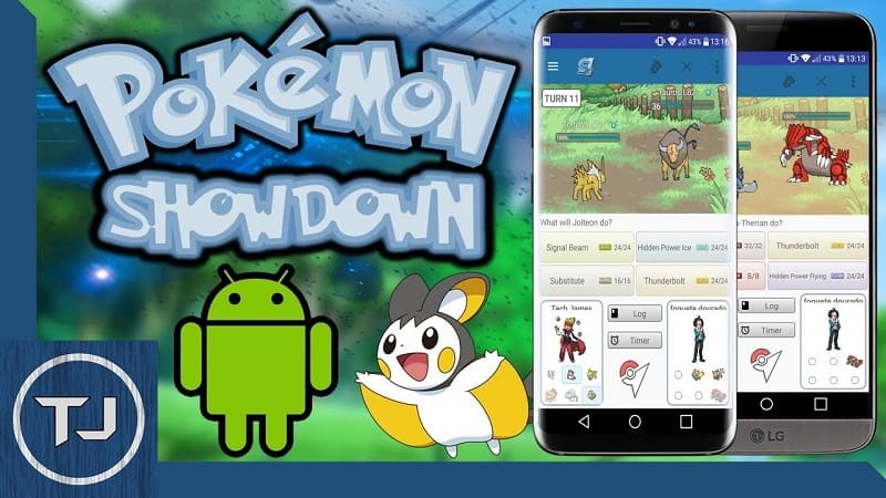 Pokemon Showdown App