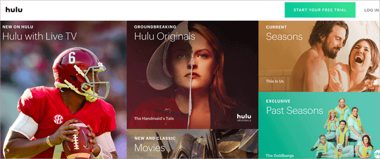 Hulu - Solarmovie Alternatives