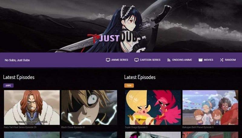 JustDub - Best AnimeFlavor Alternative