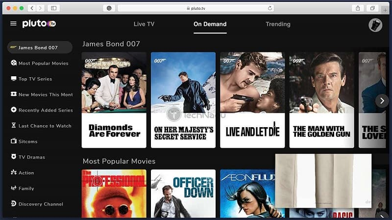 PlutoTV - Watch Movies Online Free