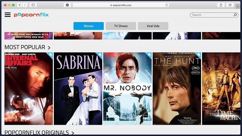 Popcornflix - Watch Movies Online Free