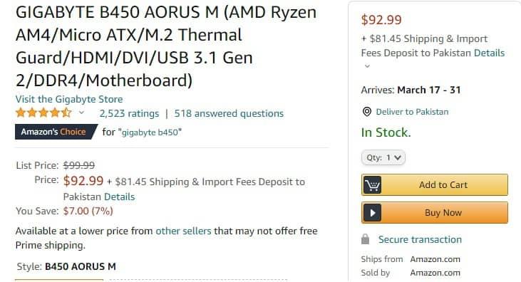 Micro ATX Motherboard Price