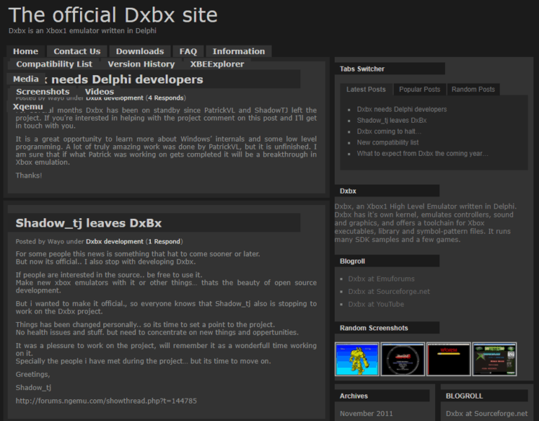 DXBX Xbox One Emulator