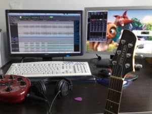 Play Guitar with computer