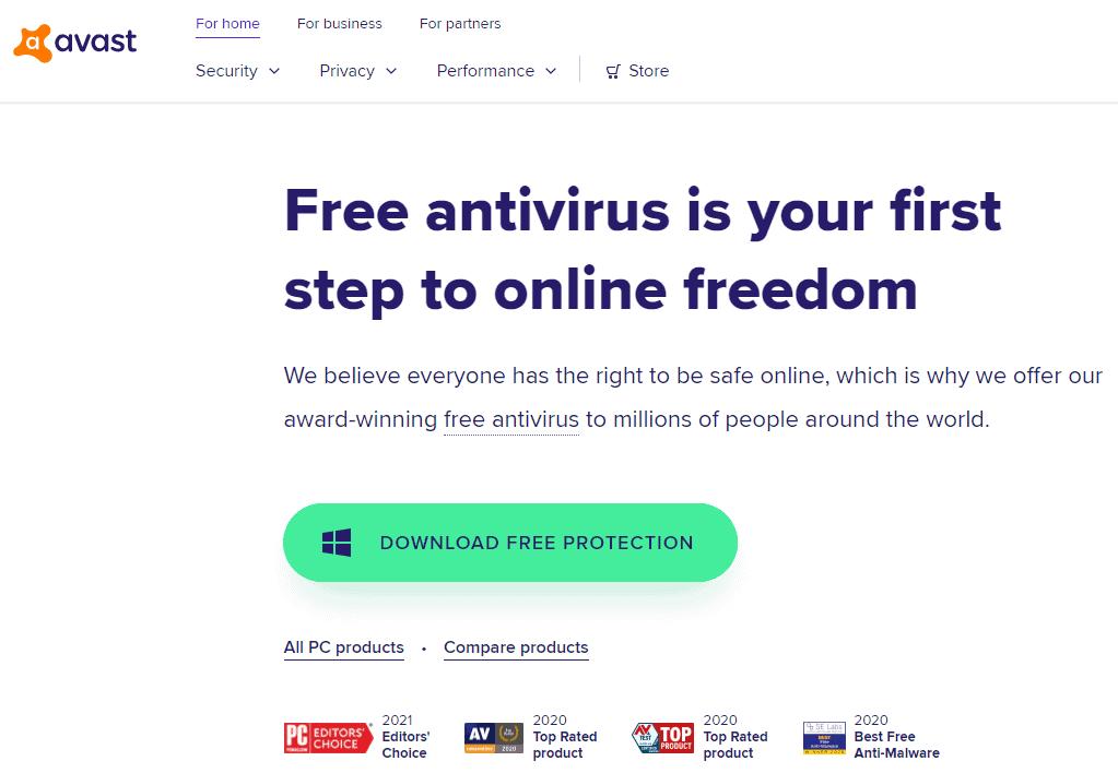 Avast Virus Definitions Won't Update