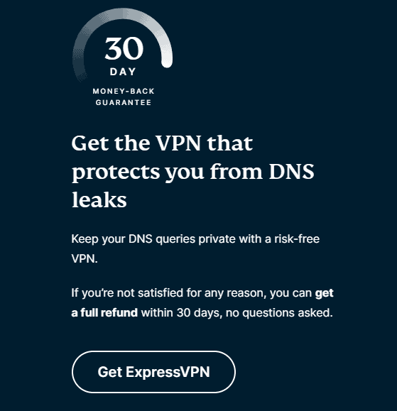 Expressvpn DNS Leak