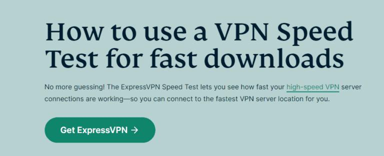 ExpressVPN Speed and Performance