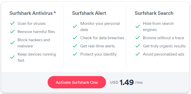 Surfshark One Bundle