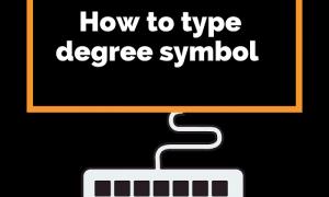 Type Degree symblo
